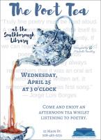 Poet Tea flyer