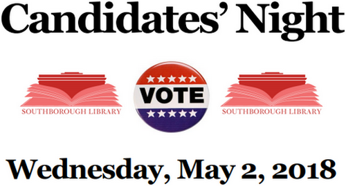 Post image for Candidates Night – May 2nd