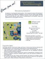 EDC Downtown Initiative flyer