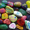 Kindness Rocks painted by Neary Students