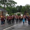 ARHS marching band - Memorial Day parade 2018 (photo by Beth Melo)