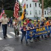 Cub Scouts - Memorial Day parade 2018 (photo by Beth Melo)