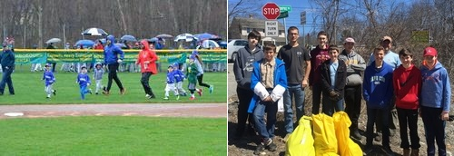 Post image for Spring in Southborough: Photos of residents and community members pitching in and having fun