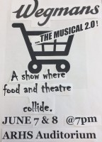 Wegmans the Musical 2.0 flyer