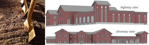 Post image for Public Safety Building breaking ground – Today