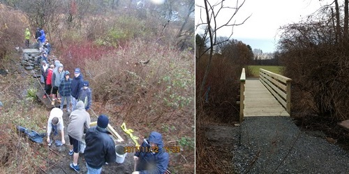 Post image for Eagle Scout replaces collapsed footbridge