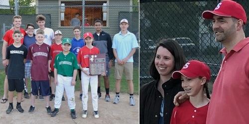 Post image for Little League honors Ellie Westphal as Eric Green Sportsmanship Award winner