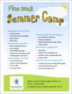 Finn camp flyer