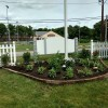 Senior Center garden in early days (contributed)
