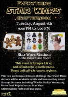 Starwars Crafternoon flyer