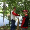Alex Flynn Eagle Scout Project on Sudbury Reservoir Trail (from STC Facebook page)