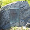 Fayville dedication stone