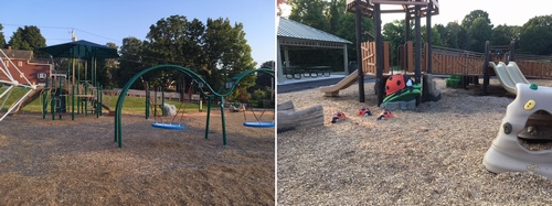 Post image for Fayville Playground open for play; Grand Opening August 18