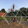new climbing structure at Fayville Playground (Beth Melo)