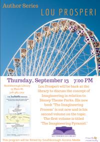 Author Night Lou Prosperi flyer Sept2018