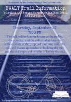 BWALT talk flyer