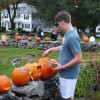 02 Pumpkins drop off by Rotary club