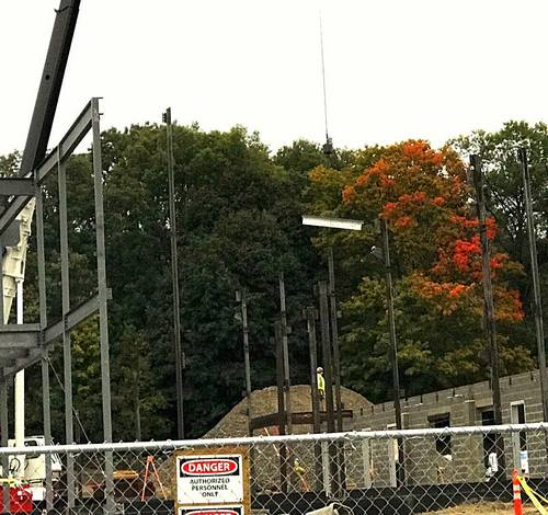 Post image for Beam raising at the Public Safety Complex