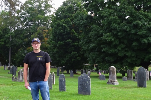 Post image for Restored headstones at Old Burial Grounds