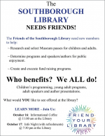 Friends of Library flyer