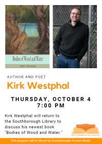 Kirk Westphal author night flyer