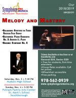Melody and Mastery flyer