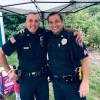 SPD with pink patches at Heritage Day from Facebook