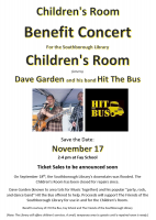 Children's Room Benefit flyer