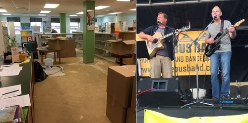 Post image for Reminder: Saturday Concert (for all ages) in response to Library flood