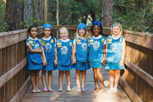 """Post image for Learn about being a Girl Scout/Daisy at a """"Troop Sampler"""""""