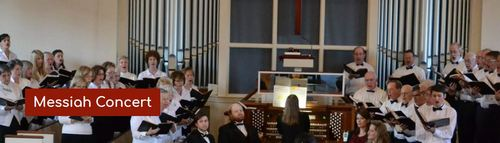 Post image for Handel's Messiah concert at Pilgrim Church – Sunday