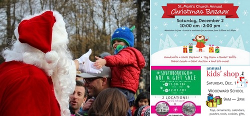 Post image for Weekend at a Glance: Santa Day, and other holiday festivities and sales