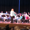 Neary in school winter concert from Facebook