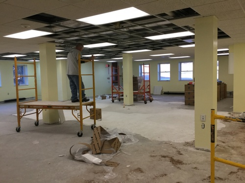 Post image for Library closed through weekend; Update on Children's Room