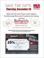 SEF Bertucci's Flyer 2018