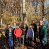 Troop 92 and volunteers cleared Town Forest trails