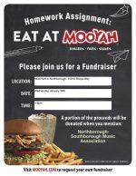 NSMA Mooyah fundraiser flyer