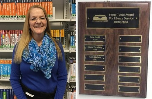"Post image for Nominations for ""Library Service Distinction"" deadline is March 1st"
