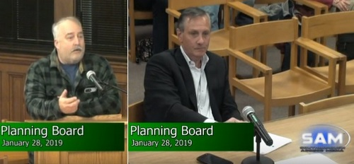 Post image for Owner of 144 & 154 Turnpike Roads defends parking lot connection