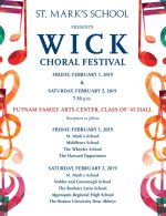 Wick Choral Festival flyer