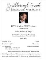 Ilya Kazantsev pianist solo concert