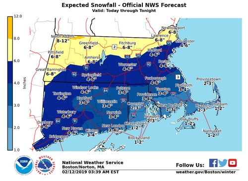 Post image for Weather impact on Town services and events (Updated)