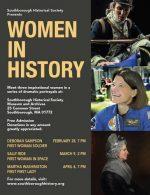 SHS Women in History series flyer