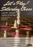 Saturday Chess flyer