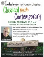 WSO: Classical Meets Contemporary concert flyer