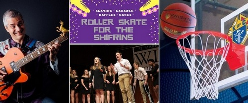 Post image for Weekend at a Glance: A Capella festival, rockabilly for tots, free throw contest, and Skating for a cause