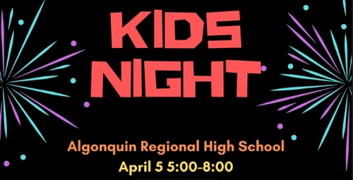 Post image for Kids Night Out at Algonquin – April 5th