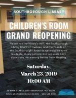Children's Room Grand Re-opening