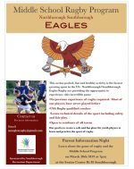 NS Middle School Rugby flyer