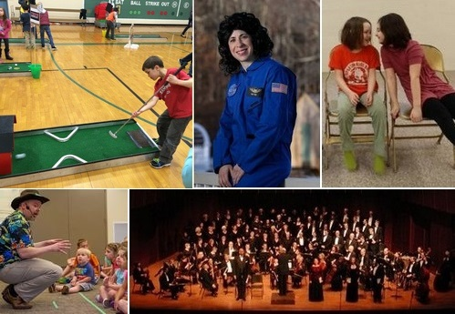 Post image for Weekend at a Glance: Putt Putt, Superhero Training, kids' Drama fun, Sally Ride, American Folk concert and more